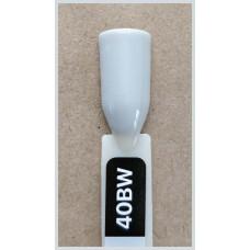 Гель-Лак Kodi  № 40 bw 8 мл. Светло-серый с лёгким оливковым подтоном.
