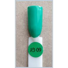 Гель-Лак Kodi  № 60 gy 12 мл. Лесная зелень.