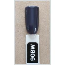 Гель-Лак Kodi  № 90 bw 8 мл. Тёмный серый.