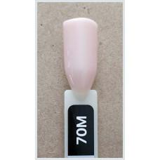 Гель-Лак Kodi  № 70 M 8 мл. Светлый бежево-розовый.