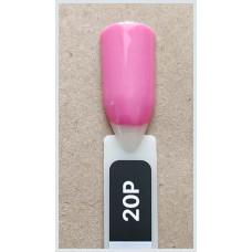Гель-Лак Kodi  № 20 P  12 мл. Розовый.