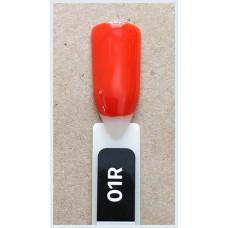 Гель-Лак Kodi  № 01 R  12 мл. Оранжево-красный.