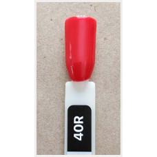Гель-Лак Kodi  № 40 R  12 мл. Кораллово-красный.