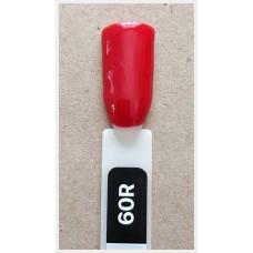 Гель-Лак Kodi  № 60 R  12 мл. Классический красный с шиммером.