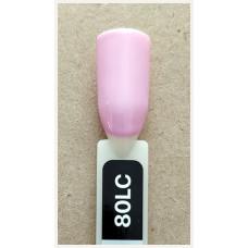 Гель-Лак Kodi  № 80 lc 12 мл. Светло-розовый.