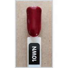 Гель-Лак Kodi  № 10 wn 12 мл. Бордовый с шиммером.