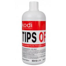 Жидкость для снятия искусственных ногтей Tips Off.